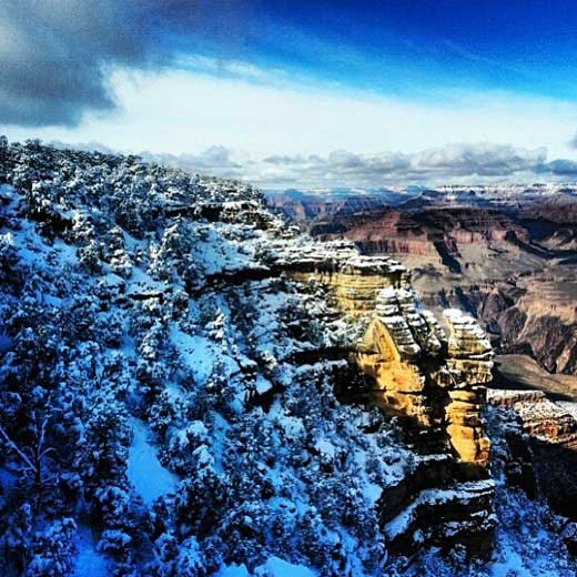 Who said it doesn't snow in the desert? Photo via @daina13.